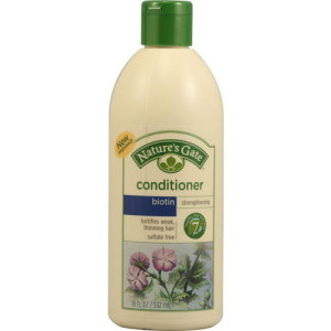 Nature's Gate Enriching Conditioner Biotin + Bamboo -- 18 fl oz - Made in America