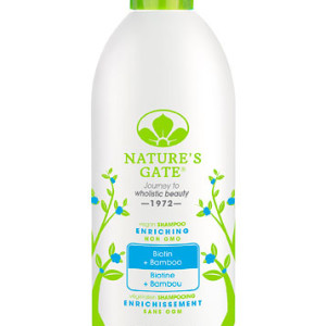 Nature's Gate Enriching Shampoo Biotin + Bamboo -- 18 fl oz - Made in America