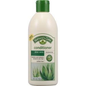 Nature's Gate Moisturizing Conditioner Aloe Vera + Macadamia Oil -- 18 fl oz - USA Made