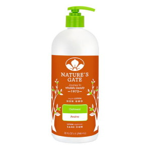 Nature's Gate Moisturizing Lotion Oatmeal -- 32 fl oz - Made in America