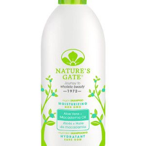 Nature's Gate Moisturizing Shampoo Aloe Vera -- 18 fl oz - Made in the USA
