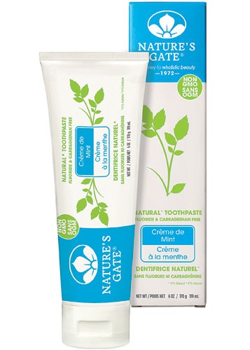 Nature S Gate Fluoride Free Natural Creme Toothpaste Creme De Mint