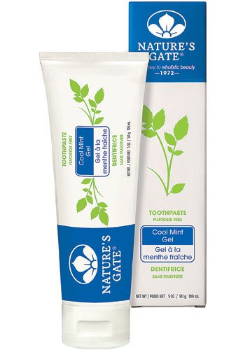 Nature S Gate Natural Toothpaste Gel Flouride Free Cool