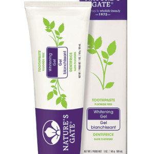 Nature's Gate Natural Toothpaste Gel Whitening -- 5 oz - Made in America