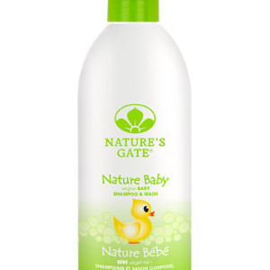 Nature's Gate Nature Baby Shampoo & Wash -- 18 fl oz - Made in USA