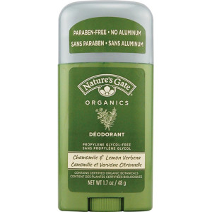 Nature's Gate Organics Deodorant Stick Chamomile and Lemon Verbena -- 1.7 oz -- USA Made