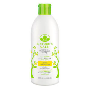 Nature's Gate Revitalizing Shampoo Jojoba + Sacred Lotus -- 18 fl oz -- Made in the USA