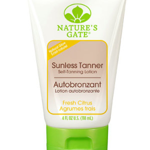 Nature's Gate Sunless Tanner Self Tanning Lotion Fresh Citrus -- 4 fl oz - American Made