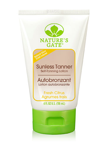 Nature S Gate Sunless Tanner Self Tanning Lotion Fresh