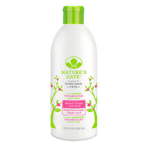 Nature's Gate Volumizing Shampoo Awapuhi + Holy Basil -- 18 fl oz -- Made in USA
