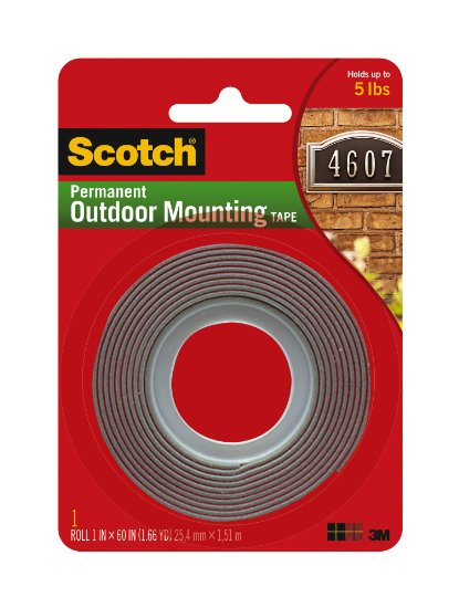 Scotch Exterior Mounting Tape 1 Inch By 60 Inch Buy Usa