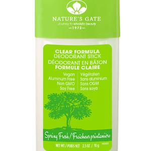 Nature S Gate Clear Formula Deodorant Stick Spring Fresh